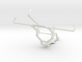 Controller mount for Steam & Motorola Nexus 6 - Fr in White Natural Versatile Plastic