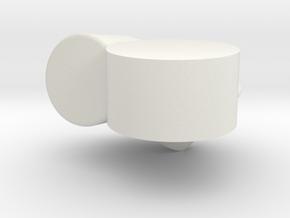 3 fixtre a in White Natural Versatile Plastic
