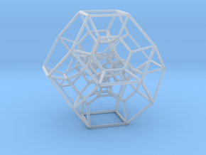 Permutohedron of order 5 (full) in Smooth Fine Detail Plastic