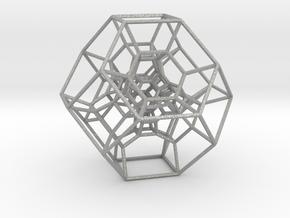 Permutohedron of order 5 (full) in Aluminum
