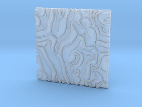 Coral pattern Seamless Decorative miniature  tiles in Smooth Fine Detail Plastic