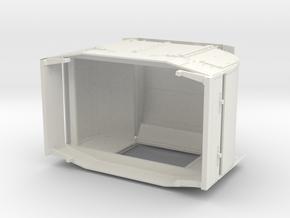 a-7-8-protected-simplex-one-door-open in White Natural Versatile Plastic
