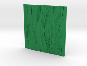 Floral  Decorative  tile 7.1x7.1x.5 cm in Green Processed Versatile Plastic