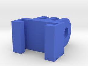 GoPro Nerf Mount in Blue Processed Versatile Plastic