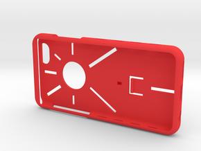 SPC case i6-i7-i8 v2 v2 in Red Processed Versatile Plastic