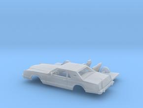 1/87 1977-79  Lincoln Mark V Kit in Smooth Fine Detail Plastic