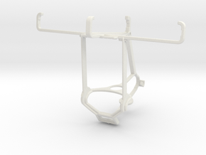 Controller mount for Steam & Kyocera DuraForce Pro in White Natural Versatile Plastic