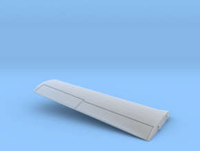 T-28B-200scale-02-InFlight-Wing-Left in Smooth Fine Detail Plastic