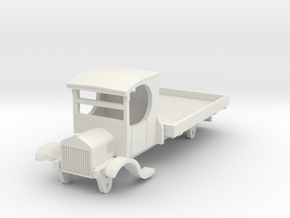 0-87-ford-lorry-1a in White Natural Versatile Plastic