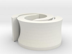 Genua Guide Unblocker 004 v1.1 in White Natural Versatile Plastic
