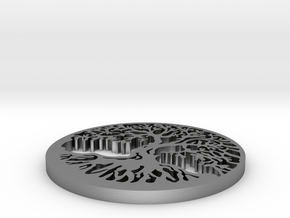 Tree of Life in Natural Silver
