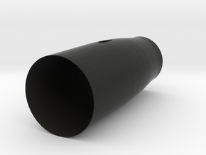"""CAT 6"" Dynamax Thrust Tube in Black Natural Versatile Plastic"