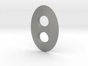 Dimmer Oval in Gray Professional Plastic