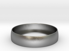 Beauty Ring / Bograt 22mm -- 24mm in Natural Silver