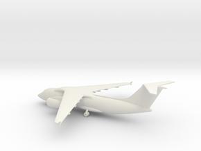 Antonov An-158 in White Natural Versatile Plastic: 1:285 - 6mm