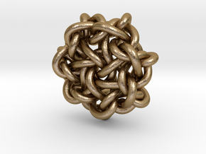 B&G Knot 15 in Polished Gold Steel