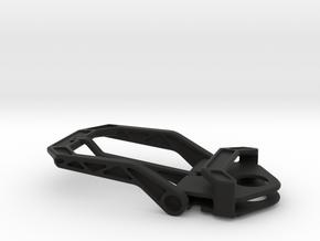 Belt Buckle 35mm in Black Natural Versatile Plastic