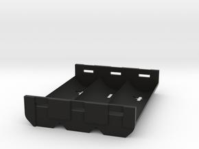 Battery sled 3x20700 in Black Natural Versatile Plastic