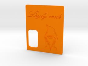 Löyly Series Squonker - Door in Orange Processed Versatile Plastic