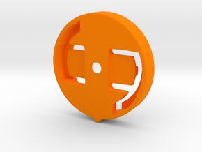Wahoo Female Plate - Giant Conduct System in Orange Processed Versatile Plastic
