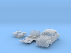 1:87 VW Sedan in Smooth Fine Detail Plastic