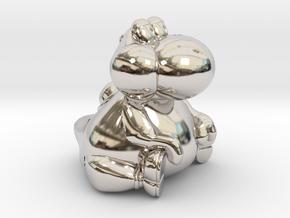 Fat Yoshi (Super Mario RPG) in Platinum: Extra Small