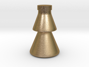 CHUAN'S Forest Cup in Polished Gold Steel