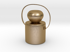 CHUAN'S Children Kettle in Polished Gold Steel