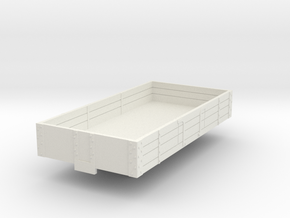 0-55-ford-3pl-baggage-wagon in White Natural Versatile Plastic