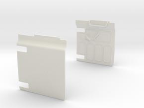 opening-door-panels in White Natural Versatile Plastic