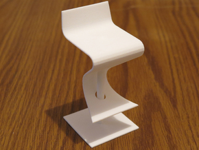 SOMA Stool in White Natural Versatile Plastic