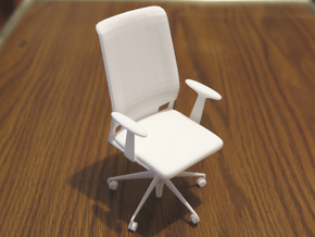 Vitra Meda Conference Chair in White Natural Versatile Plastic