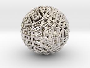 Cube to octahedron transition Version 1 in Platinum