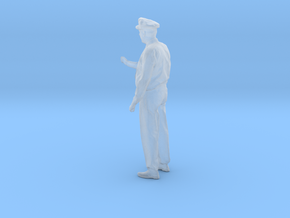 Motorman / Operator Figure HO & O Scales in Smooth Fine Detail Plastic: 1:48 - O