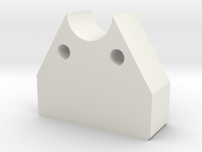 Bielomatic Sheeter Decurl Bearings 0440257-06 1820 in White Natural Versatile Plastic