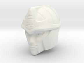 Blackarachnia 19mm Tall Head R in White Natural Versatile Plastic