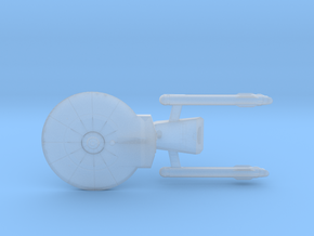 Confederation Baton Rouge Class Light Cruiser (Ref in Smooth Fine Detail Plastic