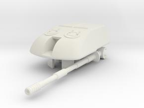 1/100 SU-10M Turret in White Natural Versatile Plastic