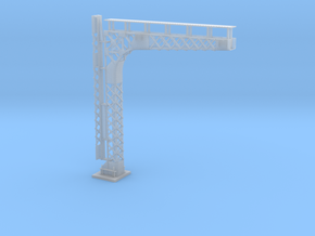 C&O Standard Cantilered Signal Bridge in Smooth Fine Detail Plastic