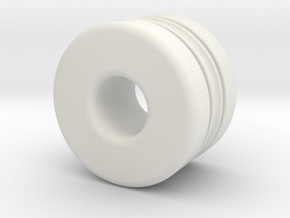 T-std040X in White Natural Versatile Plastic