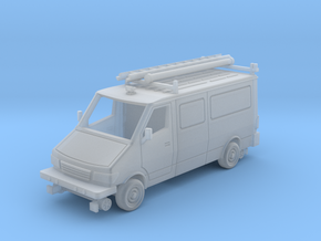 MOW Service Van With Ladder Rack 1-87 HO Scale in Smooth Fine Detail Plastic