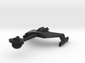 Klingon D7 1/7000 in Black Premium Versatile Plastic