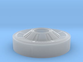"""Ford HubCap for 1.9"""" RC4WD Landie in Smoothest Fine Detail Plastic"""