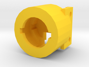 M4 Receiver Picatinny Mount Adapter Mark II (20mm) in Yellow Processed Versatile Plastic