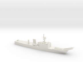 Newport-class LST w/o floats, 1/2400 in White Natural Versatile Plastic