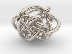 B&G Link 25 in Rhodium Plated Brass