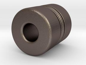 N-n18040X in Polished Bronzed-Silver Steel