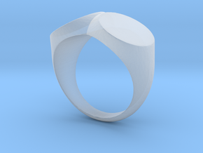 double ring/ two faced in Smoothest Fine Detail Plastic: 2 / 41.5
