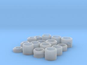 1/87 H0 Schächte DN1000, Set 1 in Smooth Fine Detail Plastic