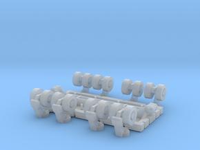 SPMT 8 Achslinien BS 1:120 TT in Smooth Fine Detail Plastic